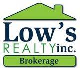 Low's Realty Inc., Real Estate Broker
