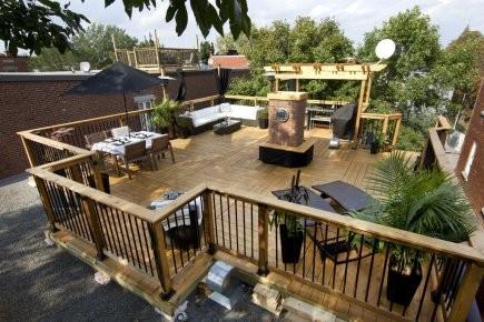 Vous Avez Toujours Souhaité Construire Une Terrasse Sur Votre Toit ? Vous  Vous Demandez Comment Faire Et à Quel Prix ?