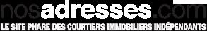 nosadresses.com - Le site des courtiers immibiliers indépendants